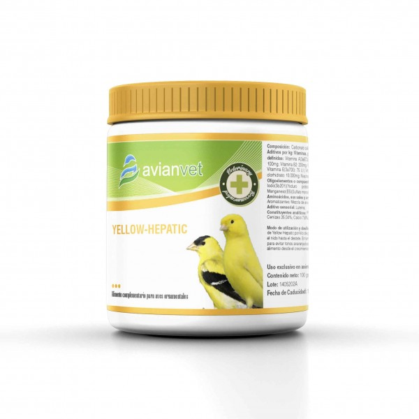 AVIANVET YELLOW HEPATIC 100gr