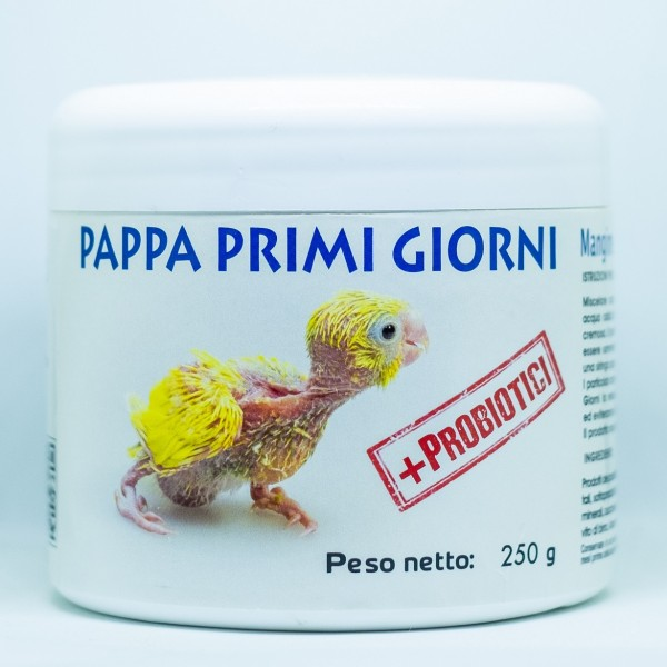 Pappa Primi Giorni Papagali - Χυλός νεοσσών - 250gr
