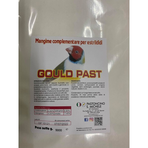 Pastoncino - S. Michele Gould Past - 5kg